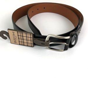 Boconi Leather Belt in Black size 36